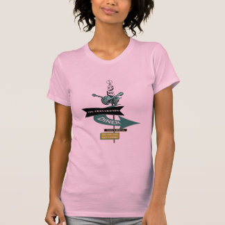 Crossroads Vintage Diner Sign T-Shirt