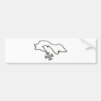 CrossSharp042109 Bumper Sticker