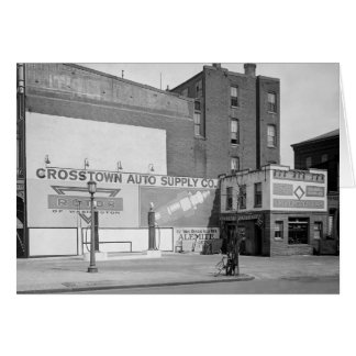 Crosstown Auto Supply, 1920 Card