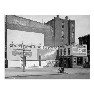 Crosstown Auto Supply, 1920 Postcard
