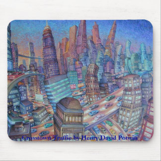 Crosstown Traffic Mouse Pad