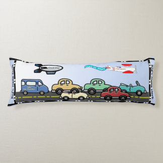 Crosstown Traffic (Personalized) Body Pillow