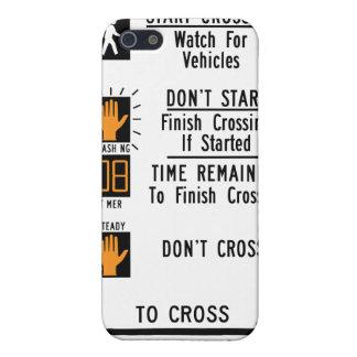 Crosswalk Sign iPhone SE/5/5s Cover