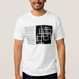 Crossword 1, Crossword 2, Crossword 3 T-Shirt