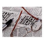 Crossword Genius Postcard
