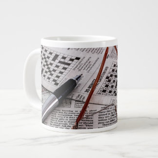 Crossword Genius Extra Large Mug