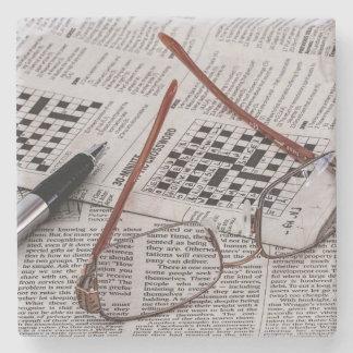 Crossword Genius Stone Coaster
