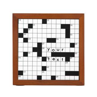 Crossword Grid Pencil Holder