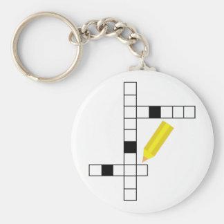 Crossword Keychain