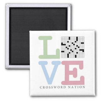 Crossword Love Magnet
