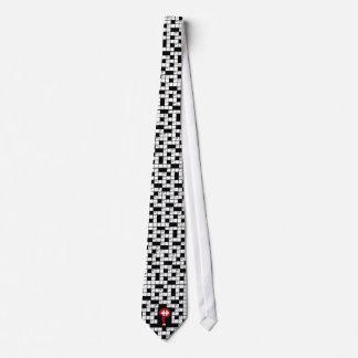 Crossword Lovers Tie! Neck Tie
