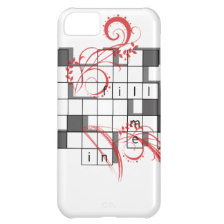 Crossword Mad Case For iPhone 5C
