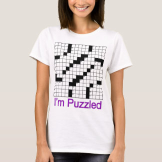crossword puzzle 01 T-Shirt