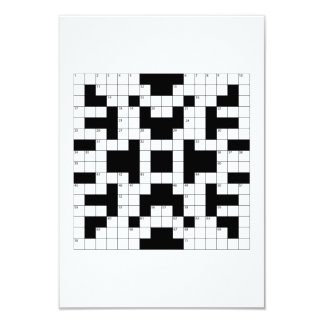 Crossword Puzzle Personalized Announcement