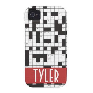 Crossword Puzzle iPhone 4 Case