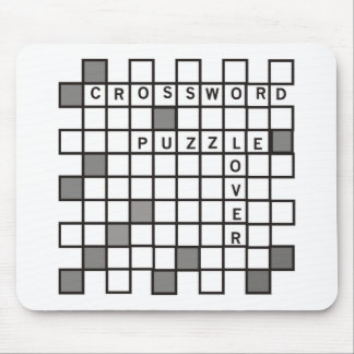 Crossword Puzzle Lover Mouse Mats