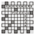 Crossword Puzzle Lover Poster