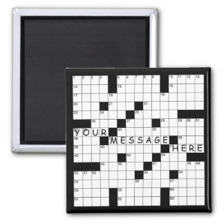Crossword Puzzle Magnet