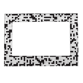 crossword puzzle magnetic frame