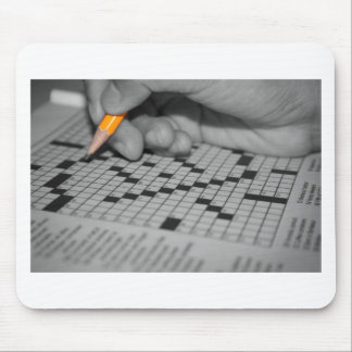 Crossword Puzzle Mouse Pad