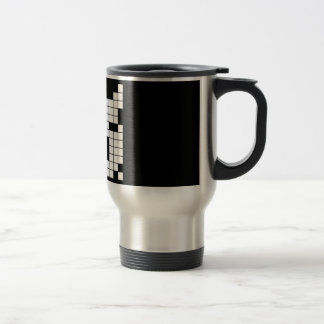 CROSSWORD PUZZLE PATTERN GRAPHICS GAMES FUN WORDS COFFEE MUGS