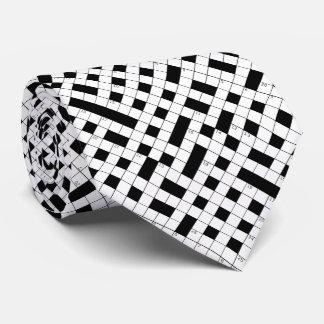 Crossword Puzzle Pattern Tie