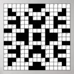 Crossword Puzzle Posters