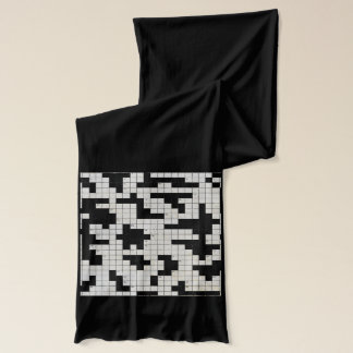 crossword puzzle winter scarfs scarf