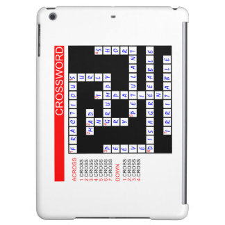 Crossword Puzzles Can Be Frustrating iPad Air Covers