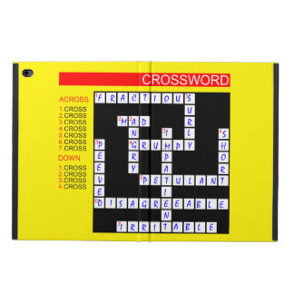 Crossword Puzzles Can Be Frustrating Powis iPad Air 2 Case