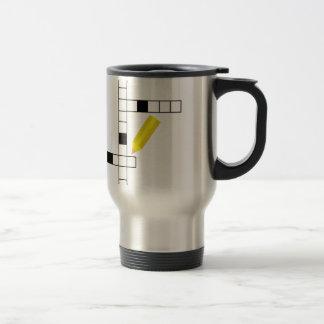 Crossword Travel Mug