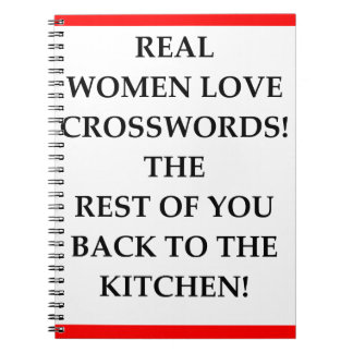 CROSSWORDS NOTEBOOK