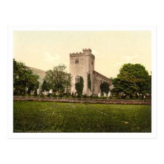 Crosthwaite Church, Derwentwater, Lake District Postcard