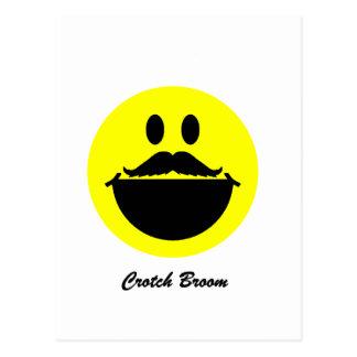 Crotch Broom Postcard