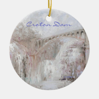 Croton Dam Ornament: New York Series by Barrasi