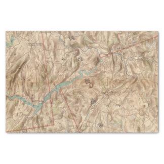 "Croton Lake Vicinity 10"" X 15"" Tissue Paper"