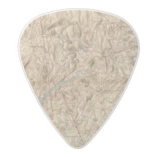 Croton Lake Vicinity Acetal Guitar Pick