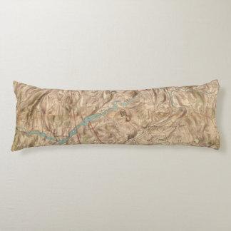 Croton Lake Vicinity Body Pillow