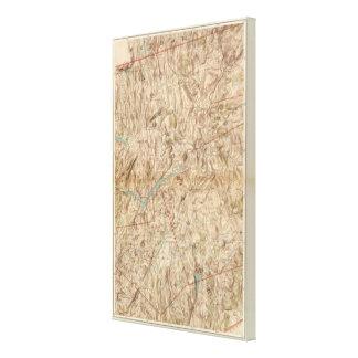 Croton Lake Vicinity Canvas Print