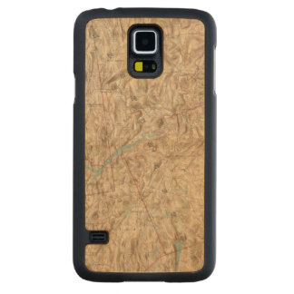 Croton Lake Vicinity Carved® Maple Galaxy S5 Case