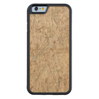 Croton Lake Vicinity Carved® Maple iPhone 6 Bumper Case