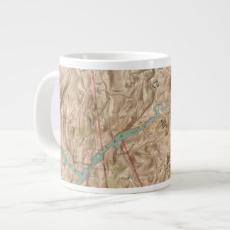 Croton Lake Vicinity Large Coffee Mug
