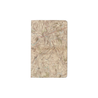 Croton Lake Vicinity Pocket Moleskine Notebook
