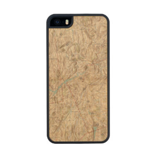 Croton Lake Vicinity Wood Phone Case For iPhone SE/5/5s