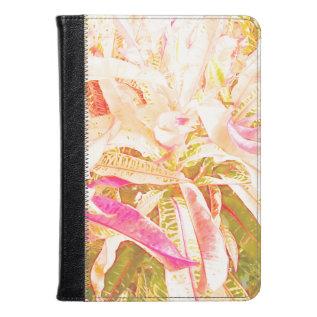Croton Leaves (1) Kindle Case at Zazzle