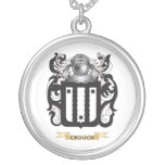 Crouch Coat of Arms Personalized Necklace