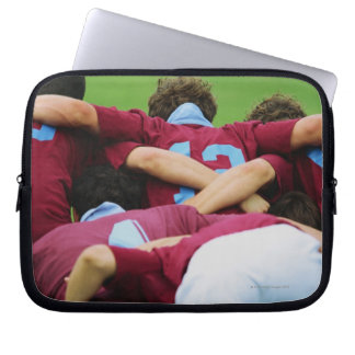 Crouch, Touch, Engage Computer Sleeves