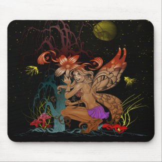 Crouching Fairy Mousepads