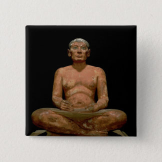 Crouching Scribe Statue Button