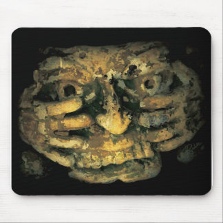 Crouching Sculpture Mouse Pad